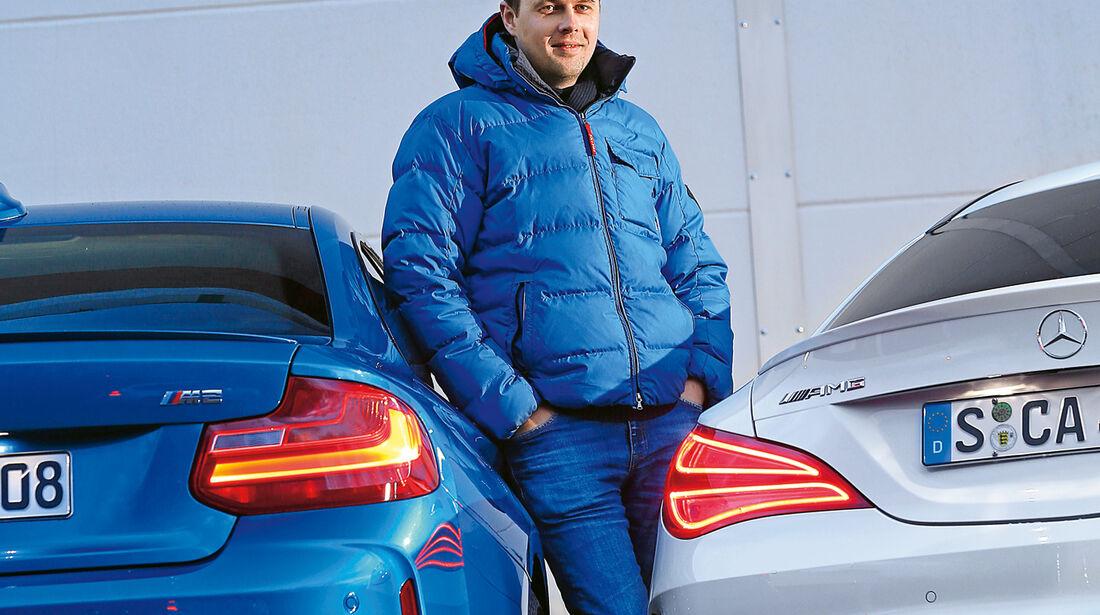 BMW M2, Mercedes-AMG CLA 45, Stefan Helmreich