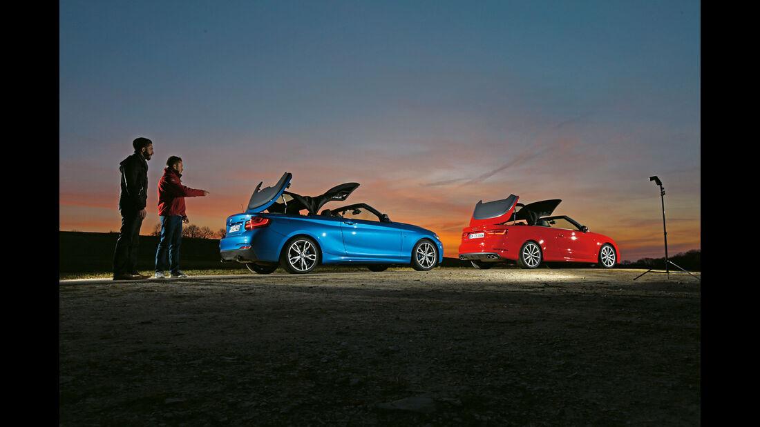 BMW M235i Cabrio, Audi S3 Cabrio, Cabrios