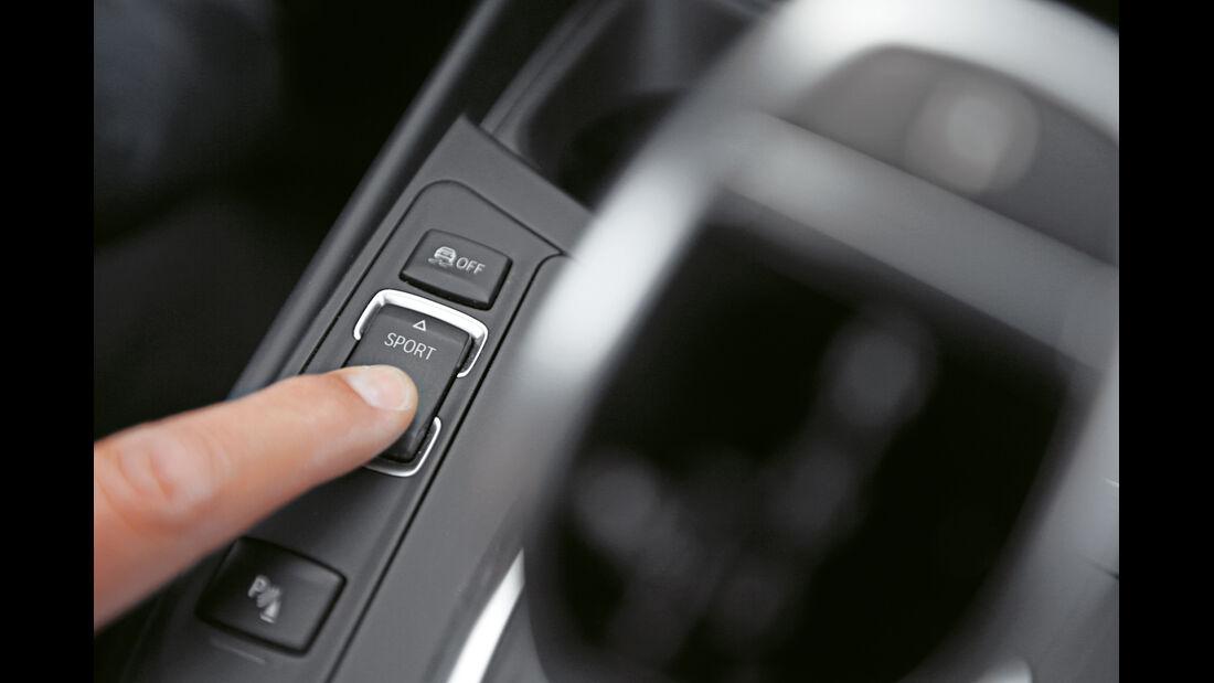 BMW M235i Cabrio, Bedienelement