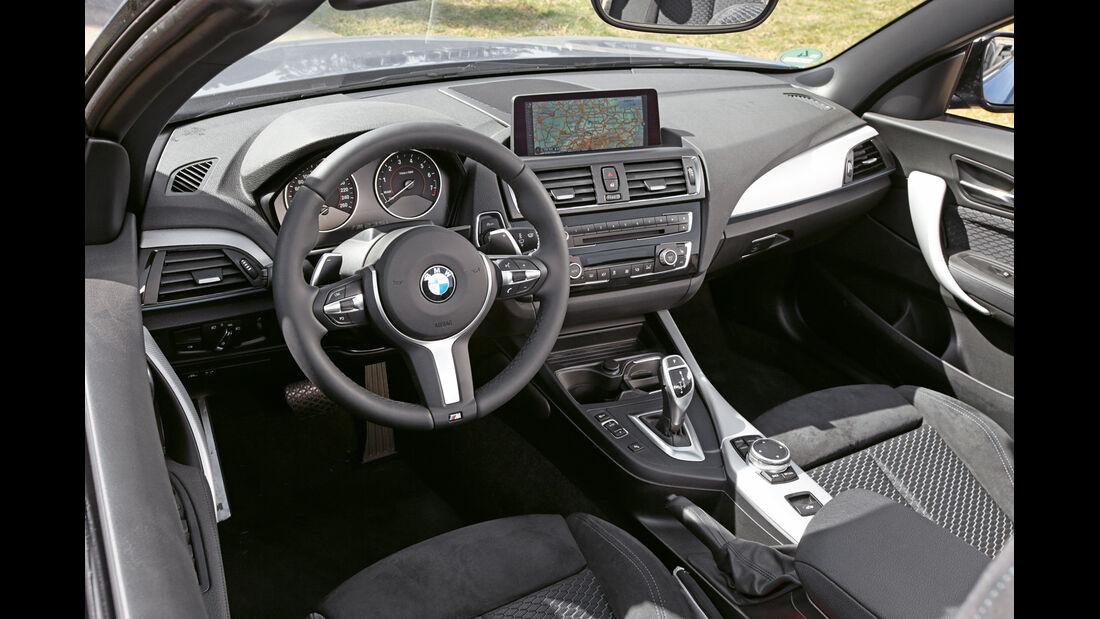 BMW M235i Cabrio, Cockpit
