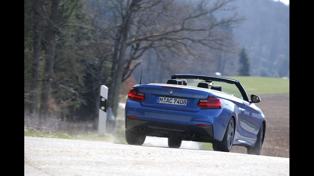 BMW M235i Cabrio, Heckansicht