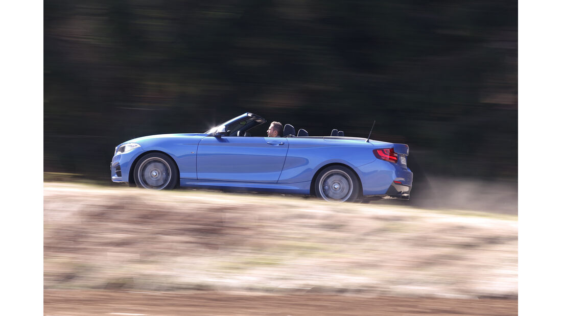 BMW M235i Cabrio, Seitenansicht