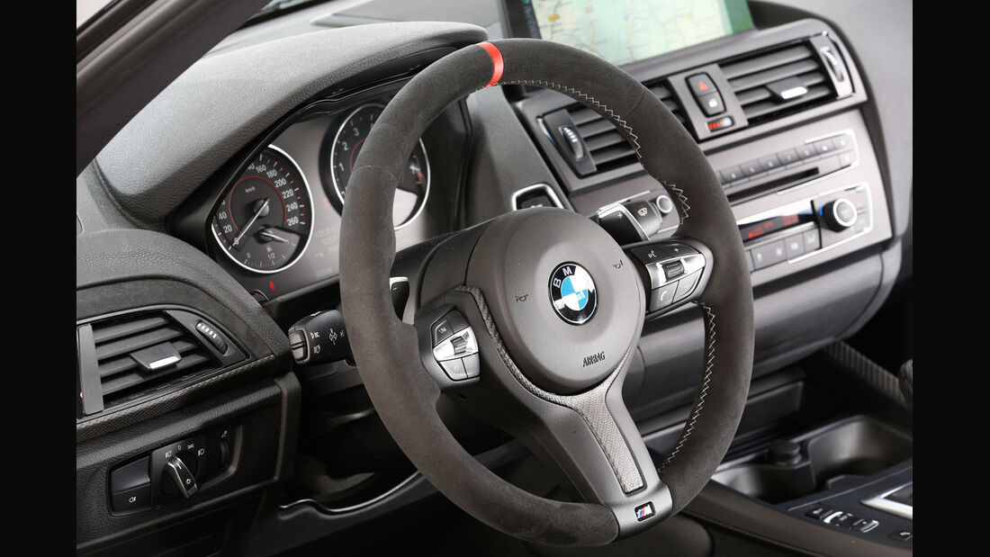 BMW M235i, Cockpit, Lenkrad
