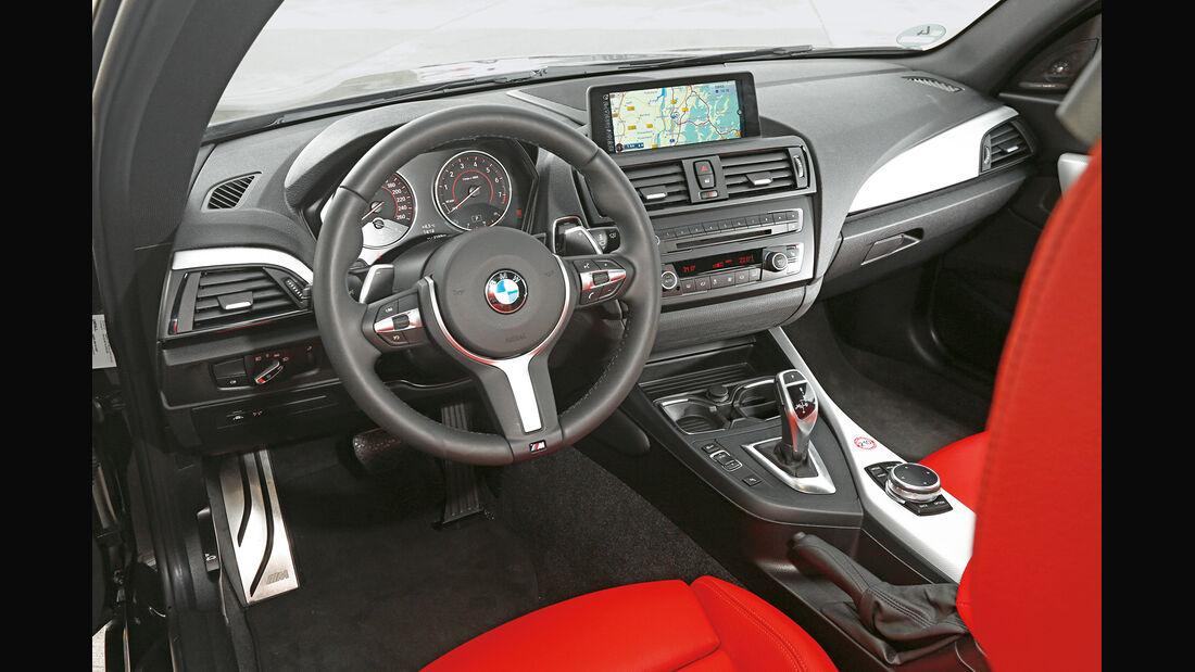 BMW M235i, Cockpit
