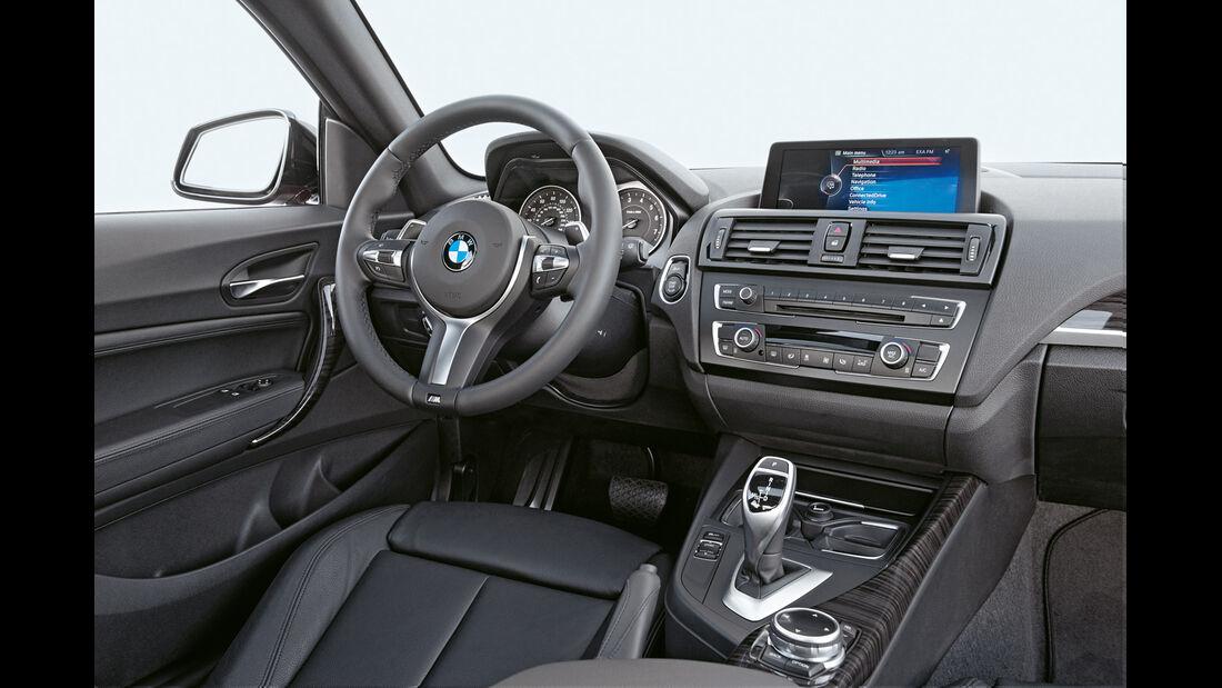 BMW M235i Coupé, Cockpit