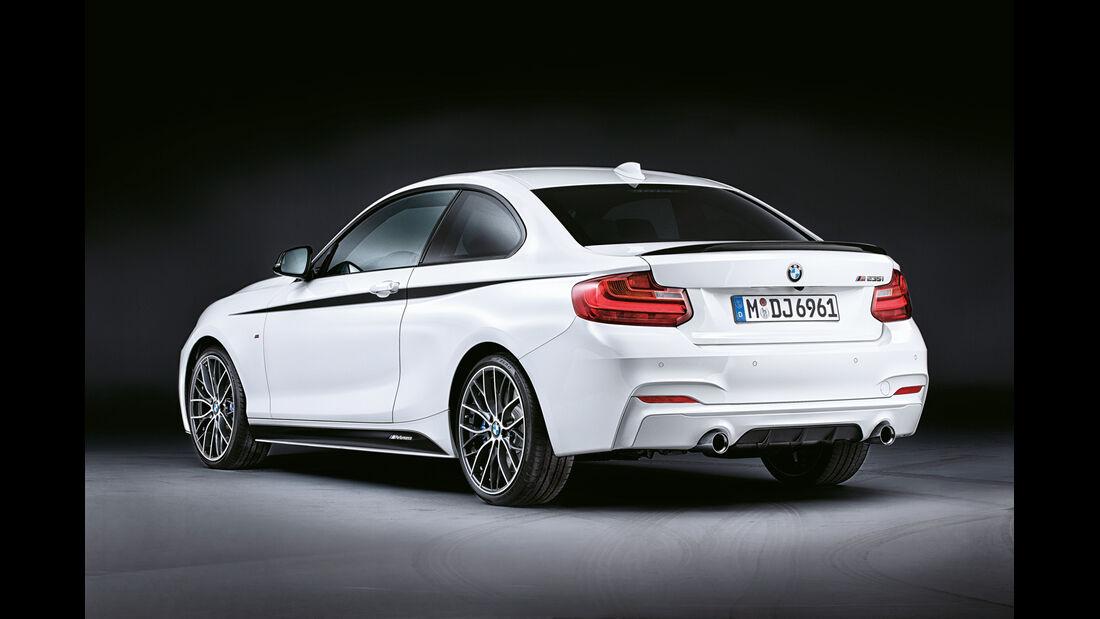BMW M235i Coupé, Heckansicht