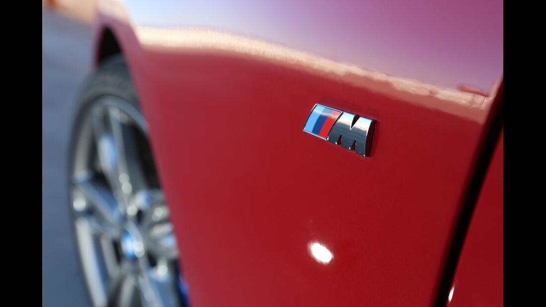BMW M235i, Emblem, Radkasten