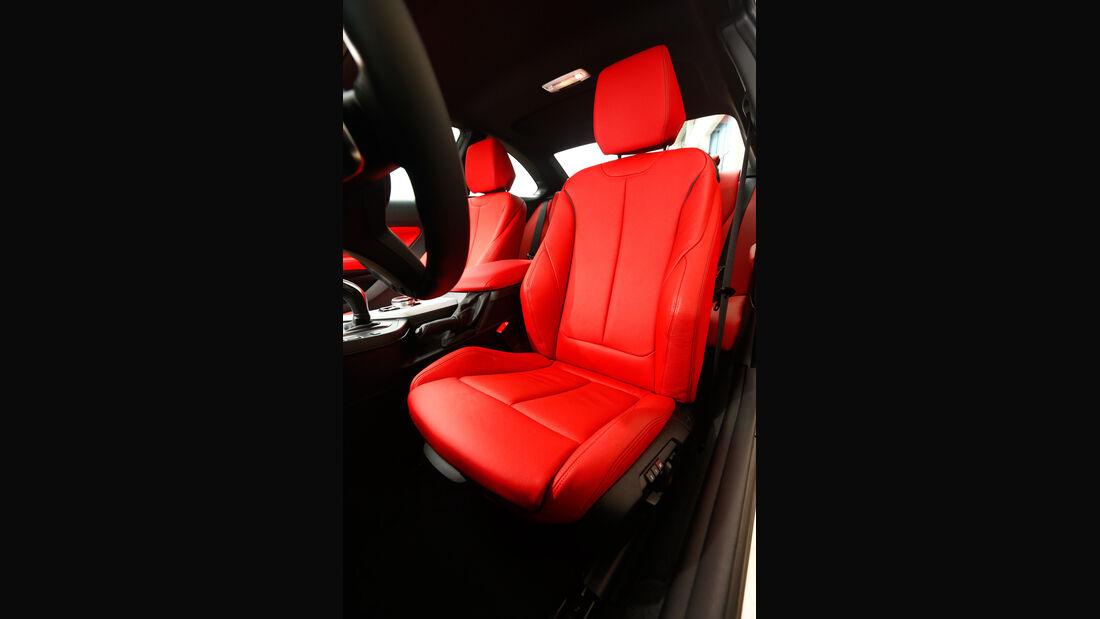BMW M235i, Fahrersitz