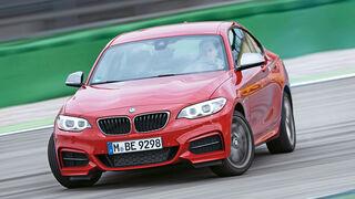 BMW M235i, Frontansicht, Driften
