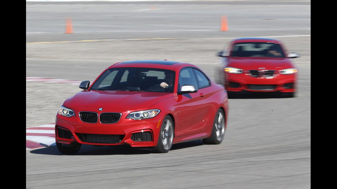 BMW M235i, Frontansicht, Testfahrt
