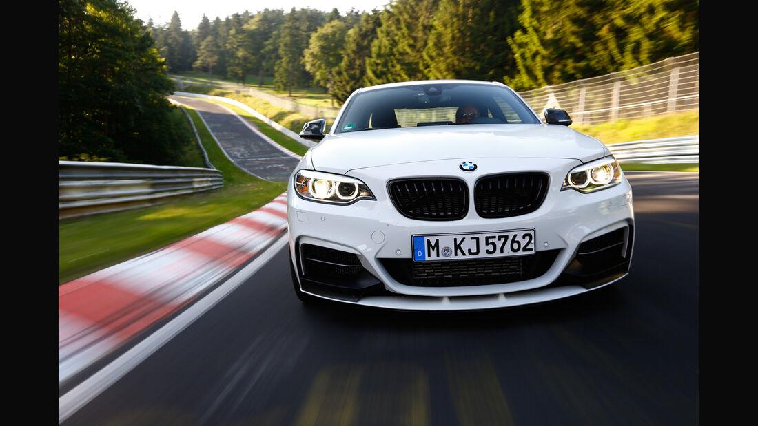 BMW M235i, Frontansicht