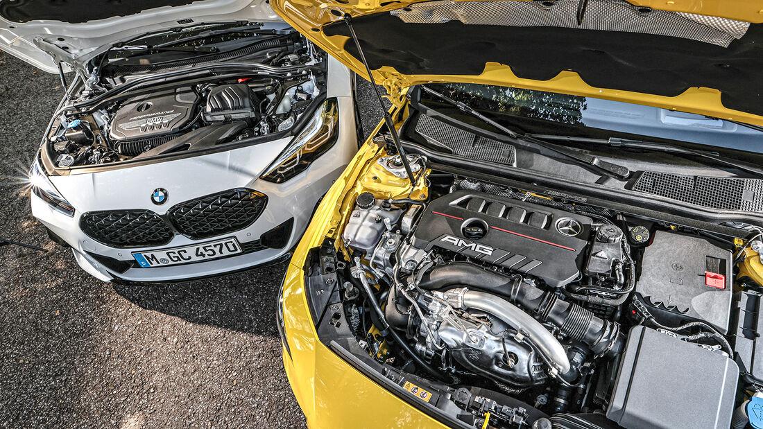 BMW M235i Gran Coupe, Mercedes-AMG CLA 35, Exterieur