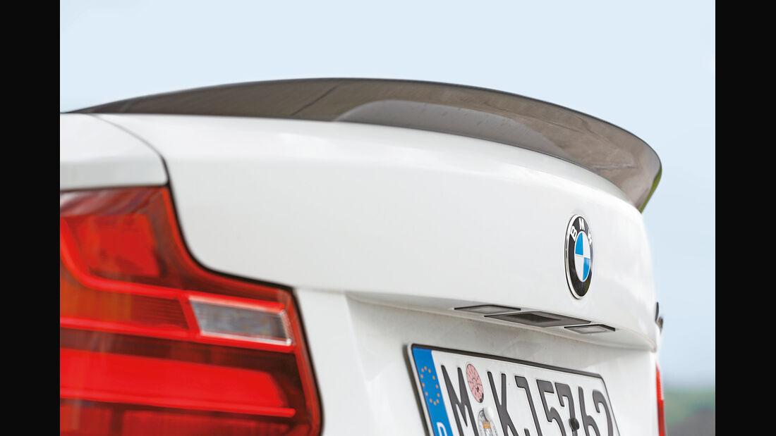 BMW M235i, Heckspoiler