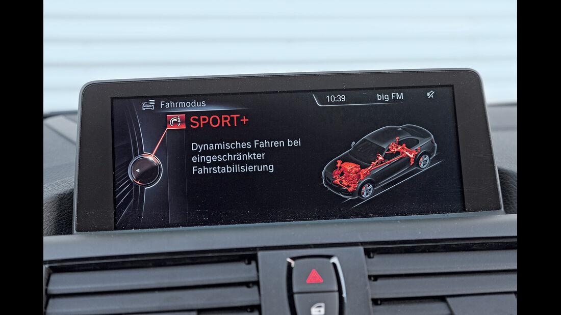 BMW M235i, Navi, Display