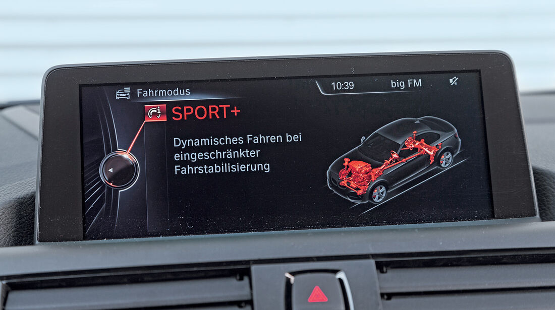 BMW M235i, Navi, Display