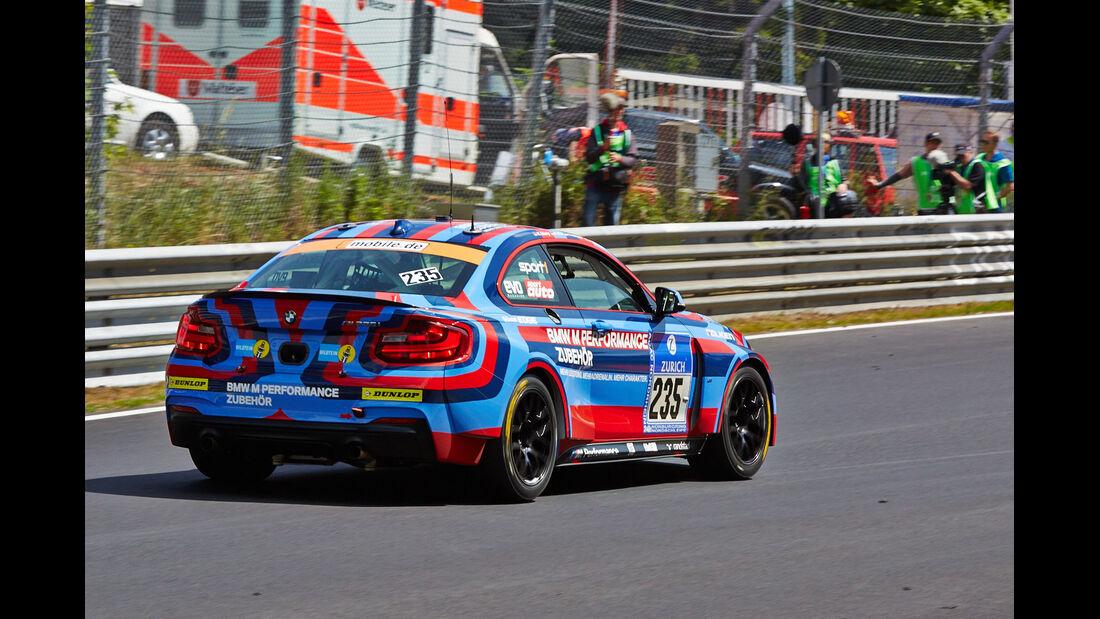 BMW M235i Racing - BMW Motorsport - Impressionen - 24h-Rennen Nürburgring 2014 - #235 - Qualifikation 1