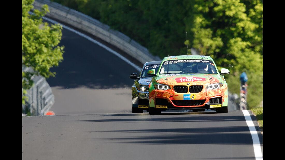 BMW M235i Racing - Freies Training - 24h-Rennen Nürburgring 2017 - Nordschleife