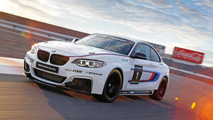 BMW M235i Racing, Frontansicht