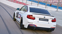 BMW M235i Racing, Heckansicht