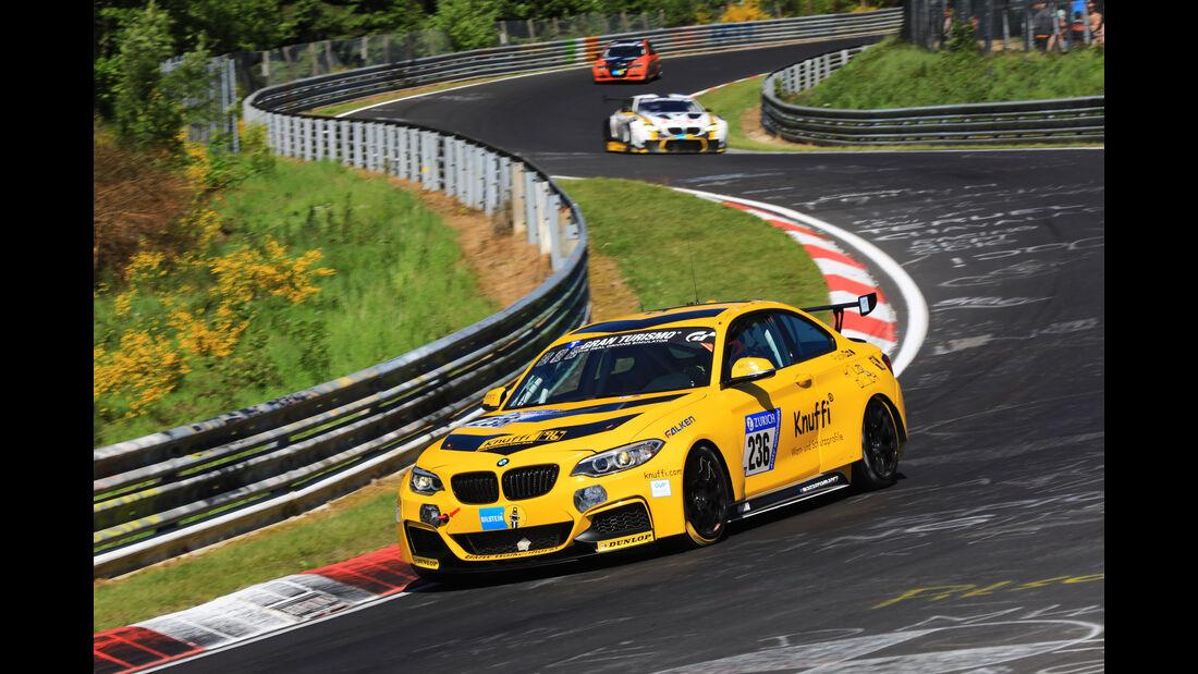 BMW M235i Racing - Startnummer #236 - 2. Qualifying - 24h-Rennen Nürburgring 2017 - Nordschleife