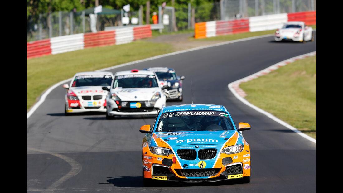 BMW M235i Racing - Startnummer #243 - 24h-Rennen Nürburgring 2017 - Nordschleife - Samstag - 27.5.2017