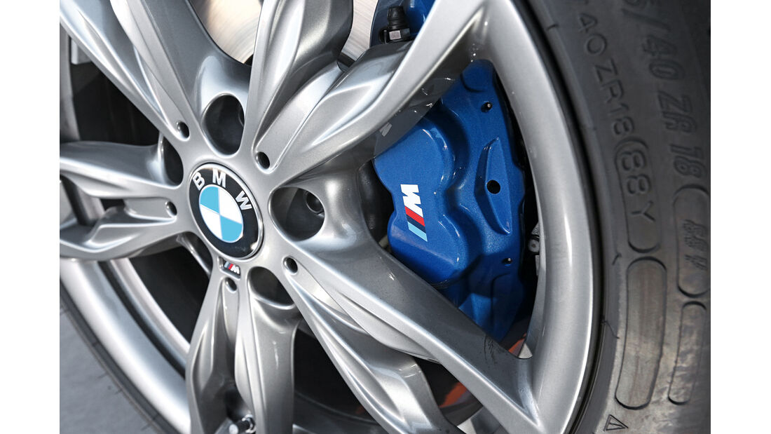 BMW M235i, Rad, Felge, Bremse