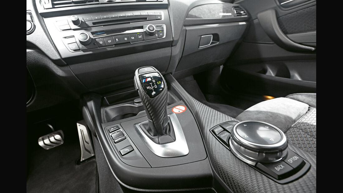 BMW M235i, Schalthebel