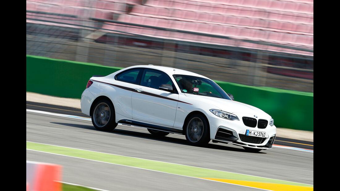 BMW M235i, Seitenansicht