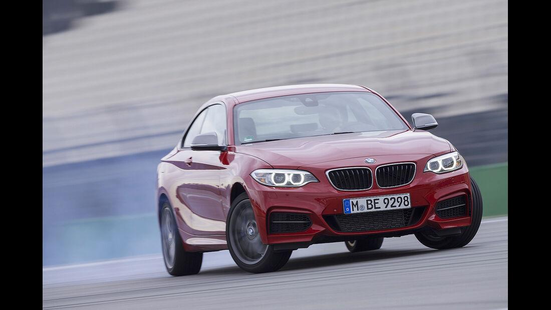 BMW M235i, Vergleichstest, spa 04/2014, Heftvorschau
