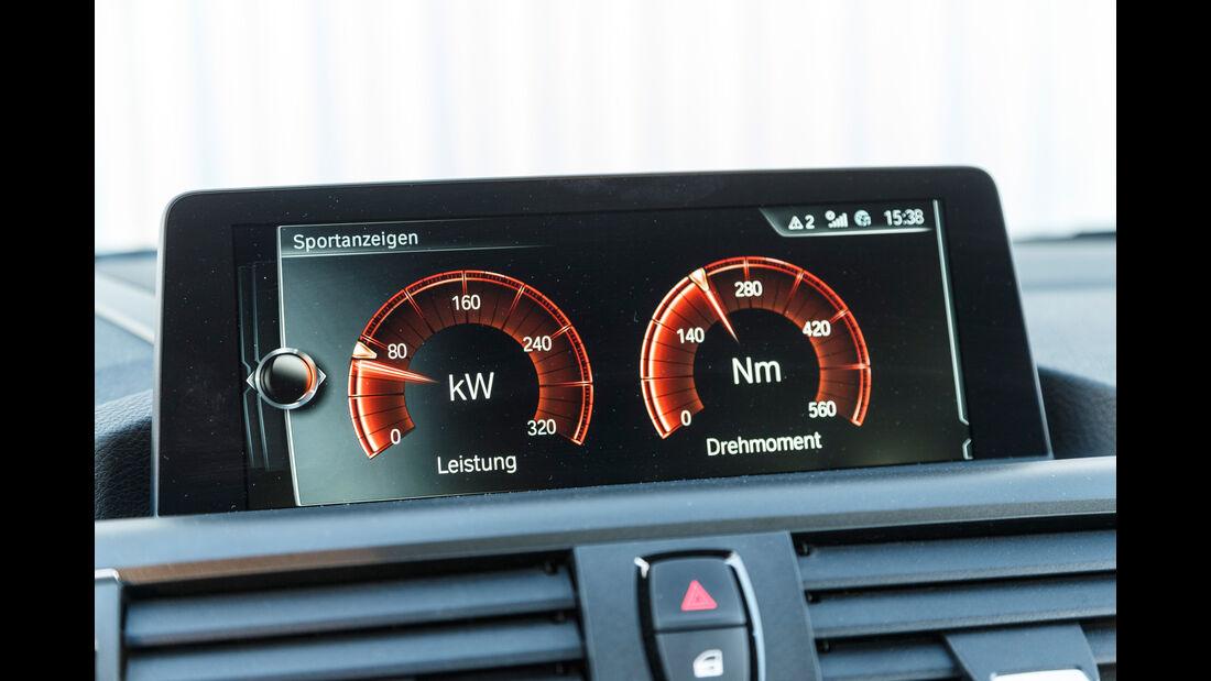 BMW M240i Coupé, Anzeigeinstrumente