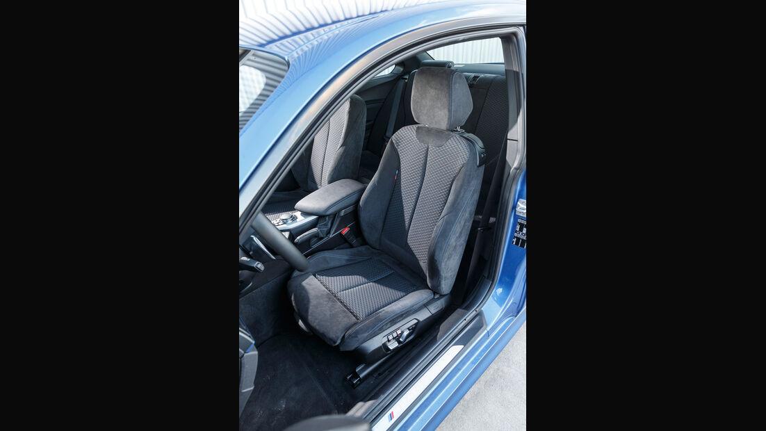 BMW M240i Coupé, Fahrersitz