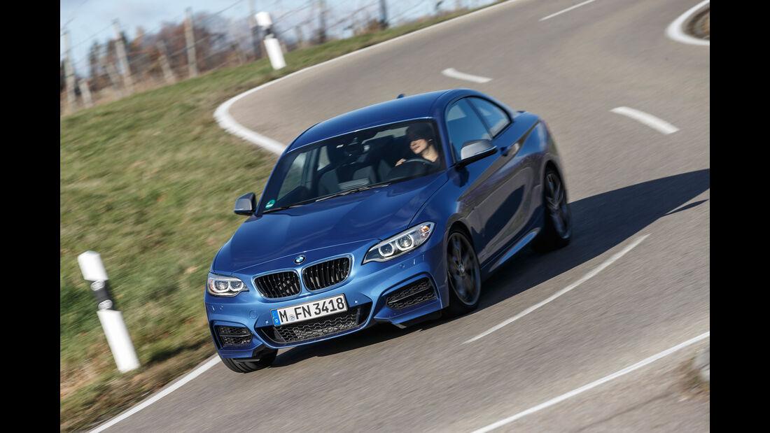 BMW M240i Coupé, Frontansicht