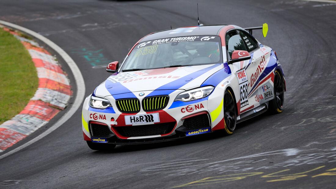 BMW M240i Racing Cup - Startnummer #658 - Hakan Sari - Cup5 - NLS 2020 - Langstreckenmeisterschaft - Nürburgring - Nordschleife