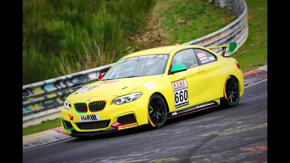 BMW M240i Racing Cup - Startnummer #660 - Cup 5 - VLN 2019 - Langstreckenmeisterschaft - Nürburgring - Nordschleife
