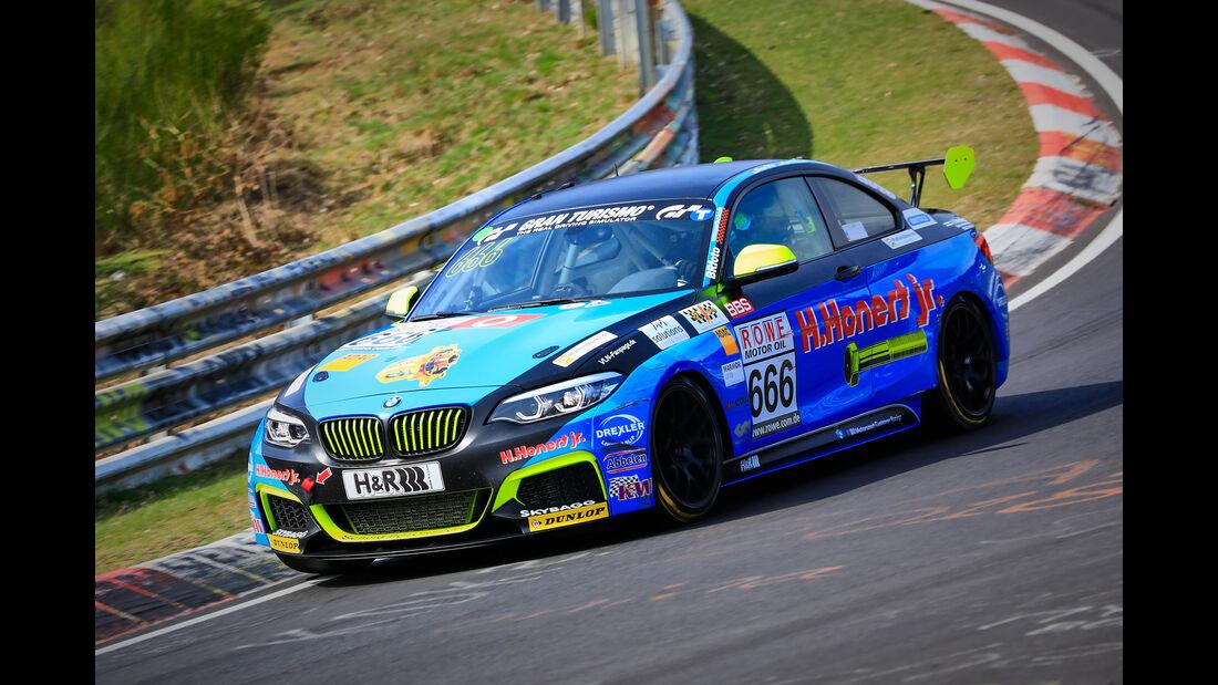 BMW M240i Racing Cup - Startnummer #666 - ADAC Nordrhein e.V. - Cup 5 - VLN 2019 - Langstreckenmeisterschaft - Nürburgring - Nordschleife