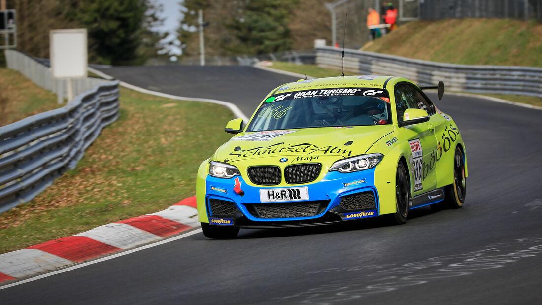BMW M240i Racing Cup - Startnummer #666 - Schnitzelalm Racing GmbH - BMW M240i - NLS 2021 - Langstreckenmeisterschaft - Nürburgring - Nordschleife