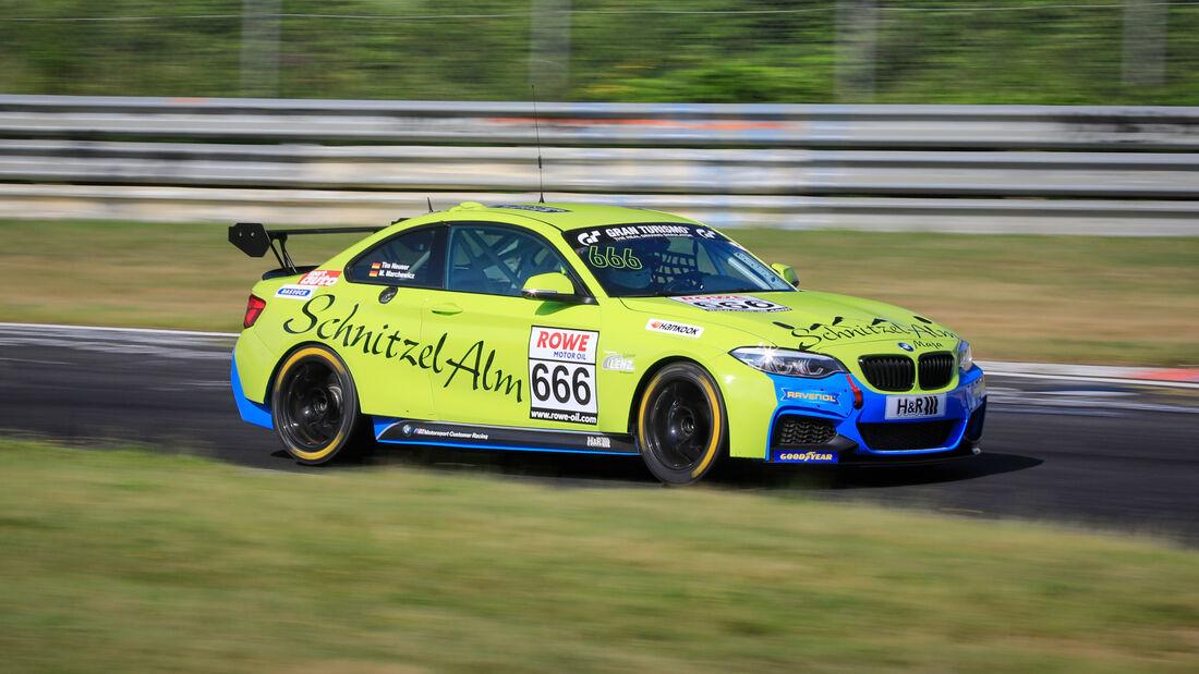 BMW M240i Racing Cup - Startnummer #666 - Schnitzelalm Racing GmbH - Cup5 - NLS 2020 - Langstreckenmeisterschaft - Nürburgring - Nordschleife
