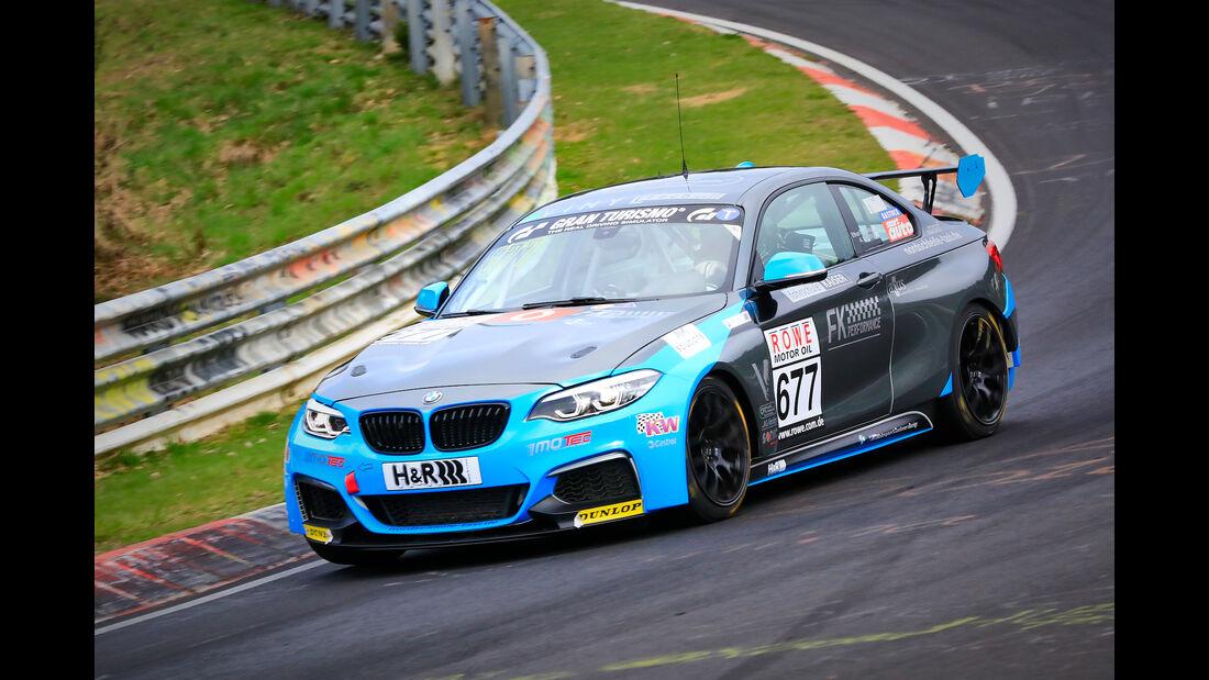 BMW M240i Racing Cup - Startnummer #677 - FK Performance Motorsport - Cup 5 - VLN 2019 - Langstreckenmeisterschaft - Nürburgring - Nordschleife