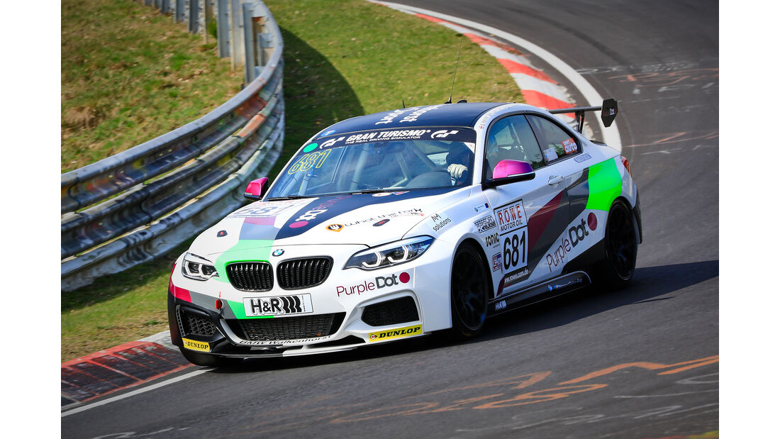 BMW M240i Racing Cup - Startnummer #681 - Walkenhorst Motorsport - Cup 5 - VLN 2019 - Langstreckenmeisterschaft - Nürburgring - Nordschleife