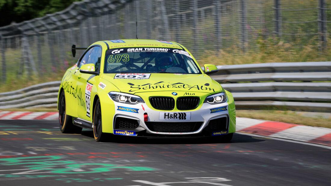 BMW M240i Racing Cup - Startnummer #693 - Schnitzelalm Racing GmbH - Cup5 - NLS 2020 - Langstreckenmeisterschaft - Nürburgring - Nordschleife