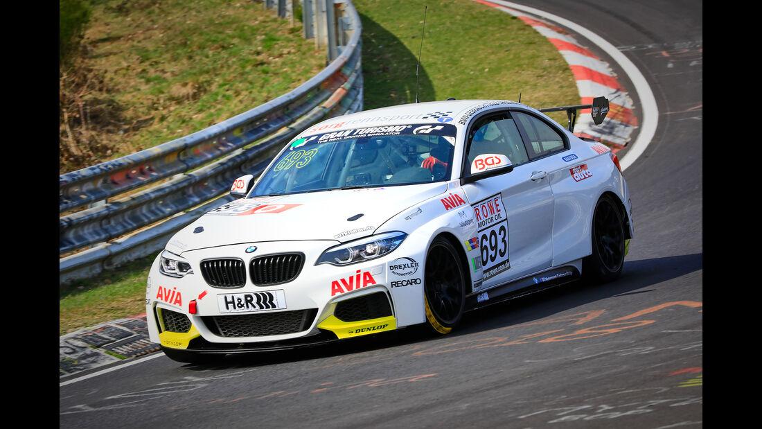 BMW M240i Racing Cup - Startnummer #693 - Team AVIA Sorg Rennsport - Cup 5 - VLN 2019 - Langstreckenmeisterschaft - Nürburgring - Nordschleife