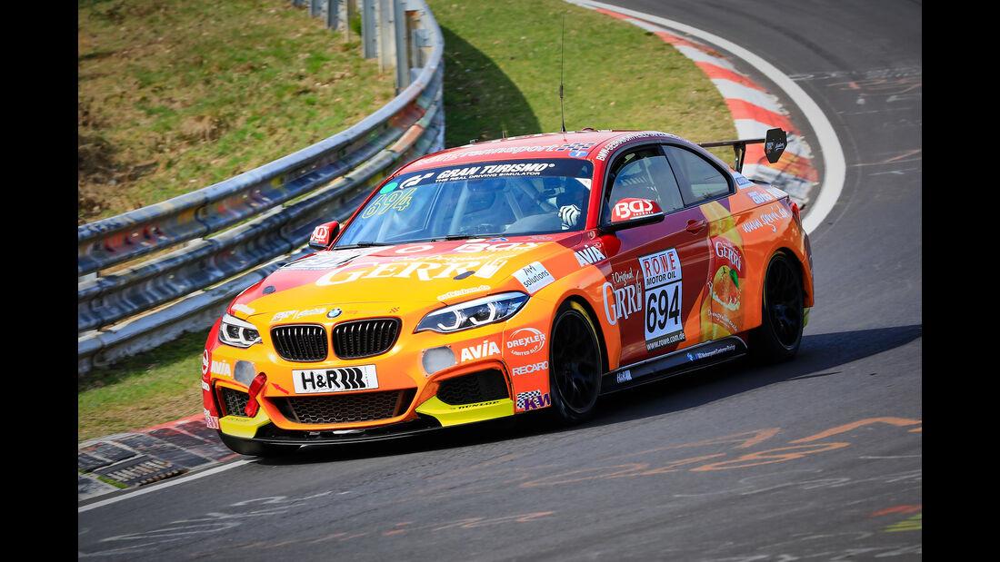 BMW M240i Racing Cup - Startnummer #694 - Team AVIA Sorg Rennsport - Cup 5 - VLN 2019 - Langstreckenmeisterschaft - Nürburgring - Nordschleife