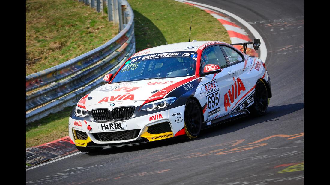 BMW M240i Racing Cup - Startnummer #695 - Team AVIA Sorg Rennsport - Cup 5 - VLN 2019 - Langstreckenmeisterschaft - Nürburgring - Nordschleife