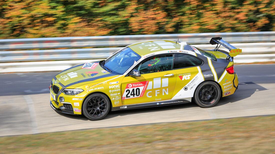 BMW M240i Racing - Pixum CFN Team Adrenalin Motorsport - Startnummer #240 - Klasse: Cup 5 - 24h-Rennen - Nürburgring - Nordschleife - 24. bis 27. September 2020