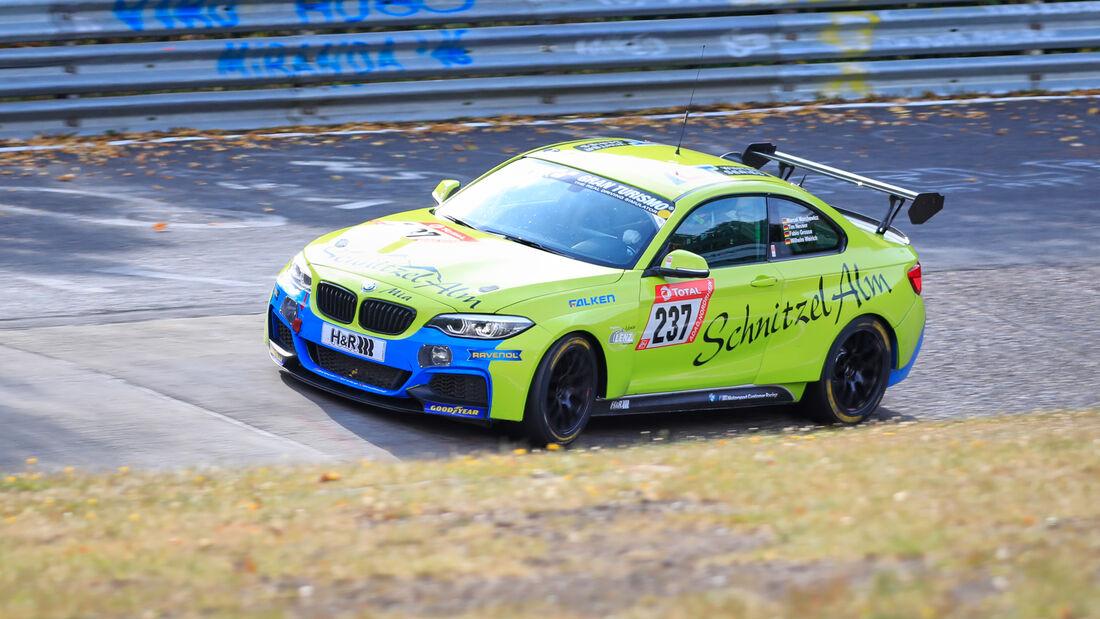 BMW M240i - Schnitzelalm Racing - Startnummer #237 - Klasse: Cup 5- 24h-Rennen - Nürburgring - Nordschleife - 24. bis 27. September 2020