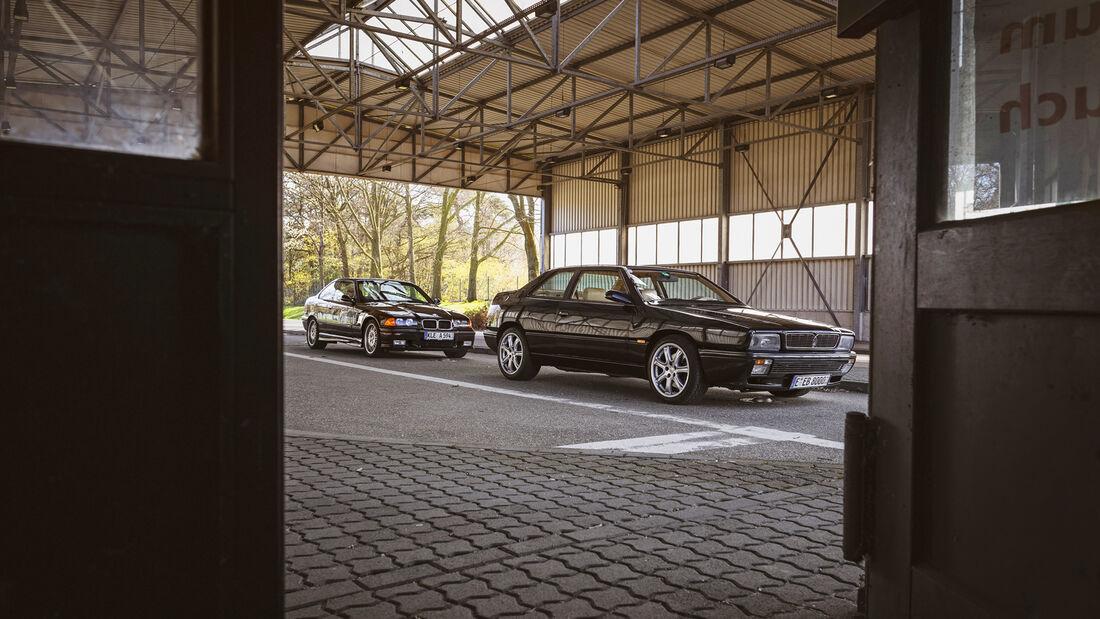 BMW M3 3.0 E36, Maserati Ghibli II 2.0, Exterieur