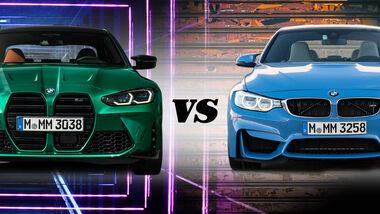 BMW M3 Alt gegen Neu 2020