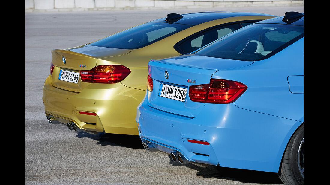 BMW M3, BMW M4