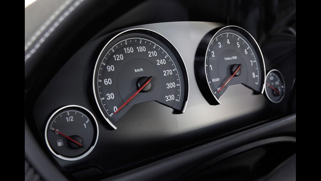 BMW M3, BMW M4, Cockpit, Instrumente