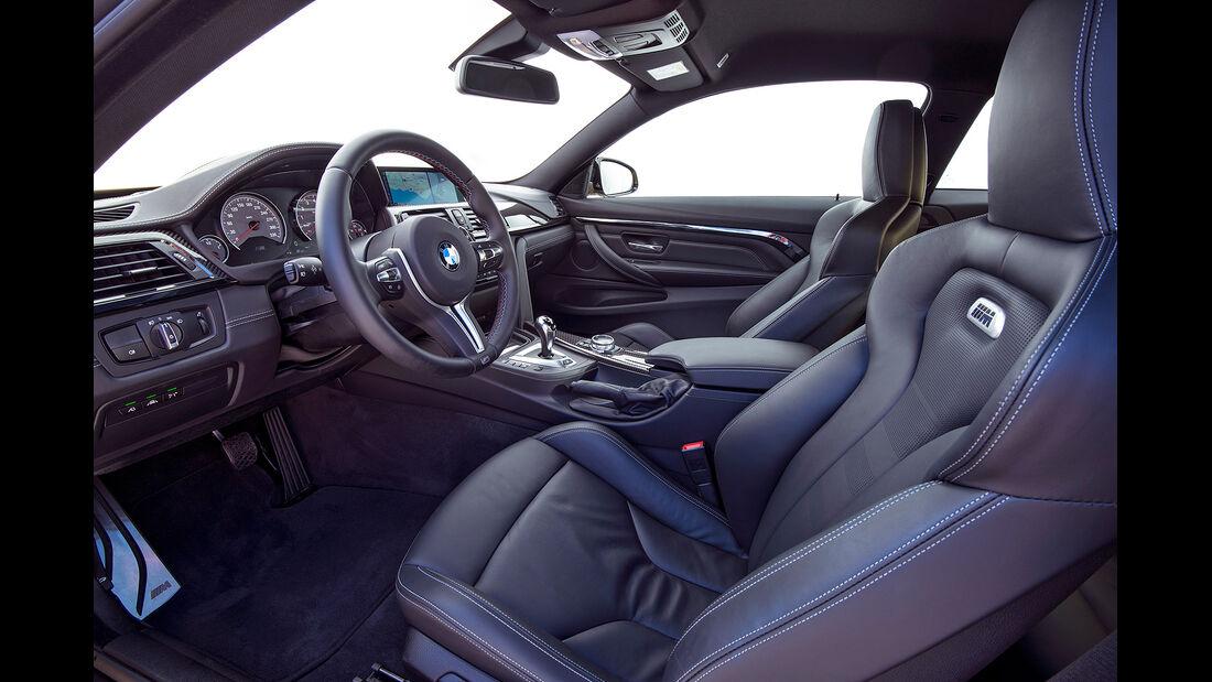 BMW M3, BMW M4, Innenraum, Cockpit